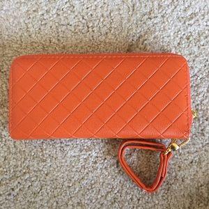 Brand New Melie Bianco Wallet Vegan Leather