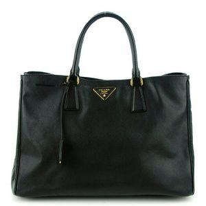 Prada Handbags - Prada Saffiano Lux Large Tote
