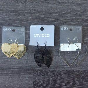 H&M earrings (3)