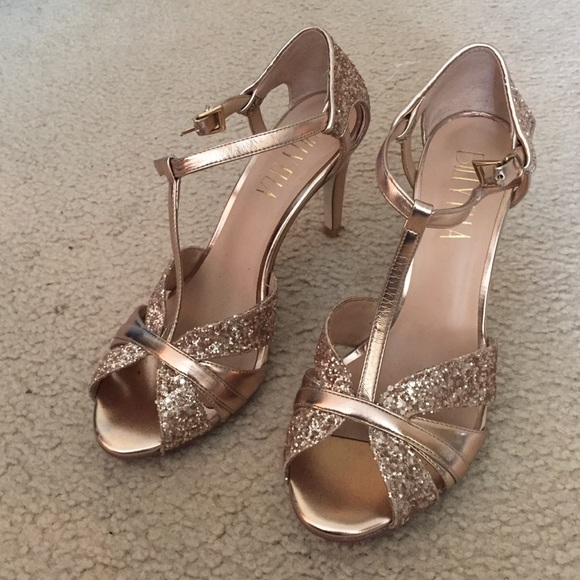 1af107452f0bd5 Billy Ella Shoes - Billy Ella rose gold heels
