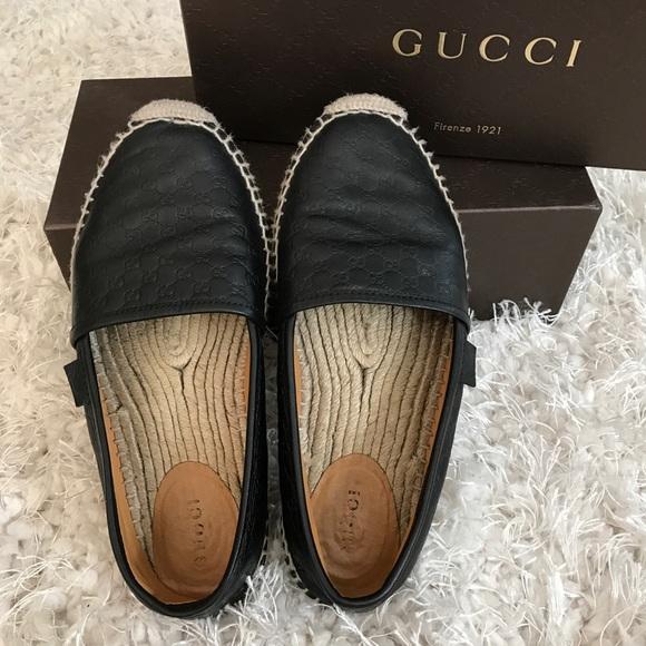fa2954ec045 Gucci Shoes - Authentic Gucci Pilar Espadrille Flat