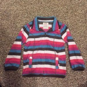 Old Navy Other - 3T girls Old Navy zip up fleece jacket