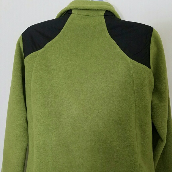 Columbia - Women's Columbia Thick Lime Green Fleece Jacket S from ...