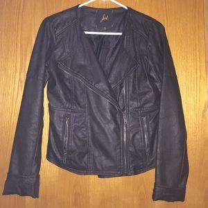Jack and Jones Jackets & Blazers - Biker leather jacket