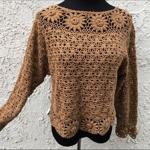 Sweaters - Crocheted Sweater