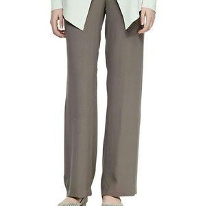 Eileen Fisher Pants - Eileen Fisher Brown Silk Pants