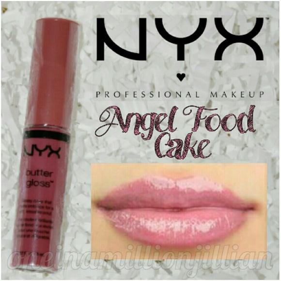 Nyx Makeup Butter Lip Gloss Angel Food Cake Poshmark