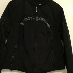Harley Davidson 2 piece jacket and vest