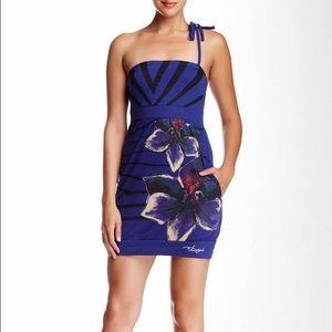 Desigual Dresses & Skirts - Printed Strapless Desigual Dress Size L