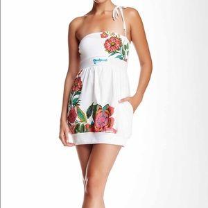 Desigual Dresses & Skirts - Printed Strapless Desigual Dress Size L/M