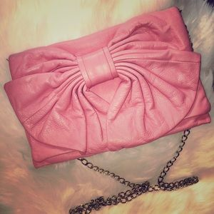 RED Valentino Handbags - Authentic Valentino Pink Guava Signature Bow Bag💞