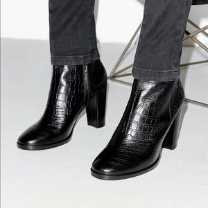 0a9f4aafd9 The Kooples Shoes - NWOB The kooples croc embossed leather boots
