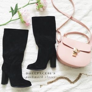 NIB Black Boots