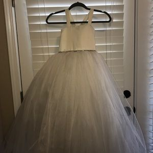 Amalee flower girl dress
