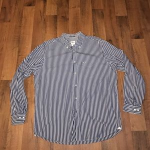 Lacoste Other - Size 45 Lacoste Long Sleeve Dress Shirt Striped