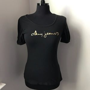 DKNY Black T-shirt - S