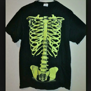 Other - Glow-in-the-Dark Skeleton T-shirt