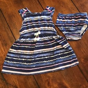 Cherokee Other - Sun dress with diaper cover