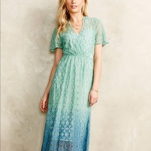 Anthropologie Dresses & Skirts - Anthropologie Ombré Midi Dress NWT