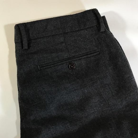 J. Crew Pants - J.Crew Classic Fir Charcoal Wool Dress Pants 33x30