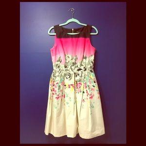 Just Taylor Floral Dress