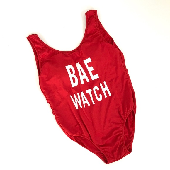beautynthe Other - •NOW AVL•Bae watch red monokini