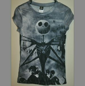 Disney Tops - Nightmare Before Christmas Jack Tshirt 👻