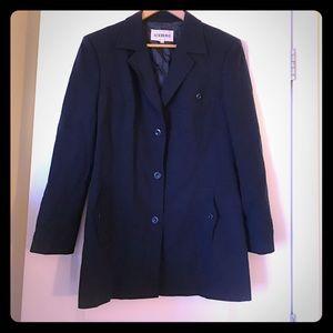 Iceberg Jackets & Blazers - ICEBERG Coat Jacket Vintage sz 48 Navy Blue