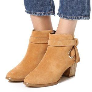 Rebecca Minkoff Shoes - NIB Rebecca Minkoff Suede Tassel Booties