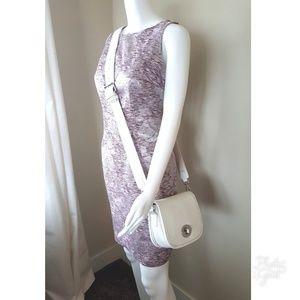 Handbags - Marc B white pebbled crossbody or clutch