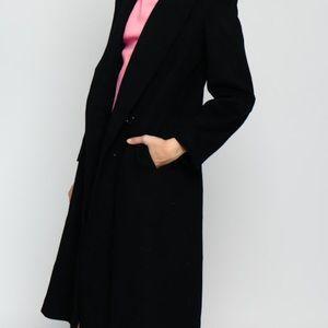 bebe Jackets & Blazers - Bebe - Long Black Corduroy Coat