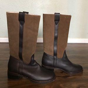 Colin Stuart Shoes - Colin Stuart shearling lined boot