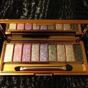 Other - 9 New Glittery Shades- eyeshadow pallet