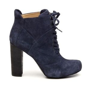 Beautiful suede lace up bootie
