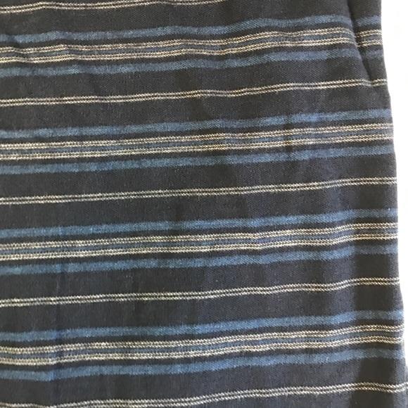 Ralph Lauren Shirts - Ralph Lauren 100% Cotton Navy Striped Polo M