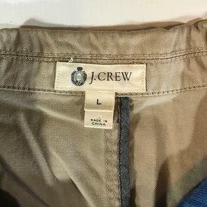 J. Crew Suits & Blazers - J.Crew Khaki 100% Cotton Mena Blazer Jacket Large