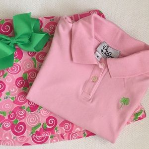 Lilly Pulitzer Other - 💕💚Lilly Pulitzer girl's polo. Size 6