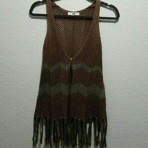 Ya Los Angeles Tops - Knit Cardigan