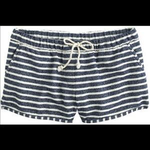 J Crew Striped Shorts