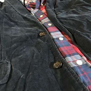 J. Crew Suits & Blazers - J.Crew Vintage Rustic Corduroy Navy Blazer Jacket