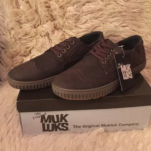 NIB MUK LUKS Men's Parker Shoes Fashion Sneakers