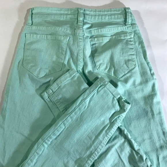 Cello Jeans Jeans - Cello Jeana Mint Green Skinny Cigarette Jeans XS