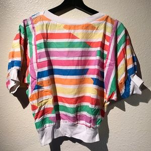 Tops - Vintage Colorful Top