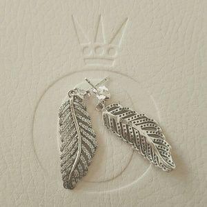 PANDORA light as a feather earrings!
