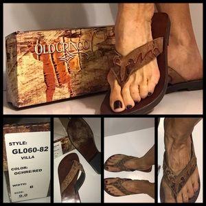 Old Gringo Shoes - OLD GRINGO leather SANDALS/FLIP FLOPS