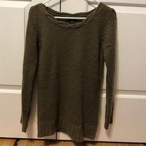 Apostrophe sweater