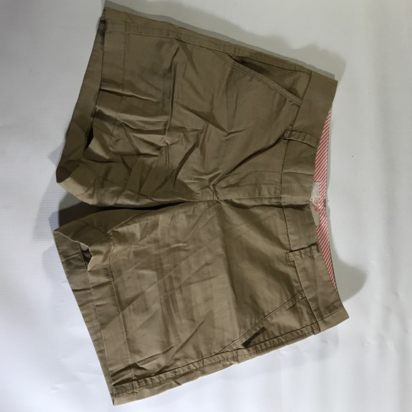 J. Crew Shorts - J.Crew Khaki 100% Cotton Chino Shorts sz 0 XS