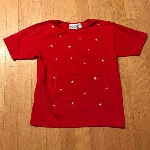 Jaclyn Smith Tops - Jaclyn Smith Sport star t-shirt