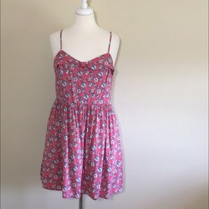 LC Lauren Conrad Dresses & Skirts - LC Lauren Conrad Pink Bird Dress Size 16