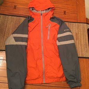 Columbia windbreaker jacket youth 18-20 (XL)